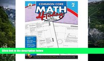 Read Online Carson Dellosa Common Core 4 Today Workbook, Math, Grade 2, 96 Pages (CDP104591) For