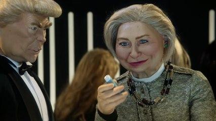 Anuncio Schweppes: Hillary Clinton / Donald Trump - Los Guiñoles - CANAL+