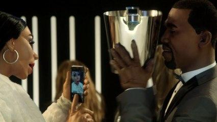 Anuncio Schweppes: Kim Kardashian / Kanye West - Los Guiñoles - CANAL+