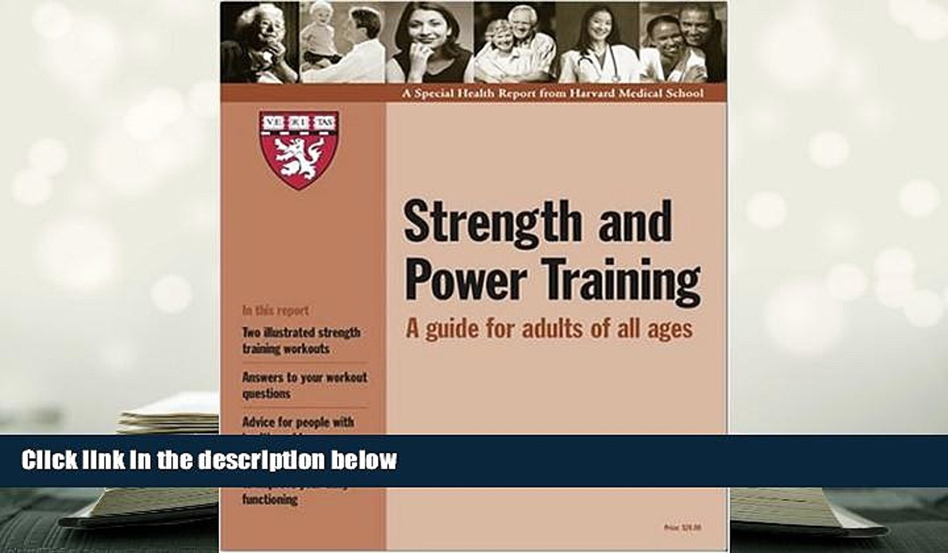 Harvard Medical School Strength and Power Training: A Guide for Adults of All Ages