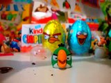 Киндер Сюрпризы Энгри Бердс,Unboxing Kinder Surprise Angry Birds игрушки Злые птички