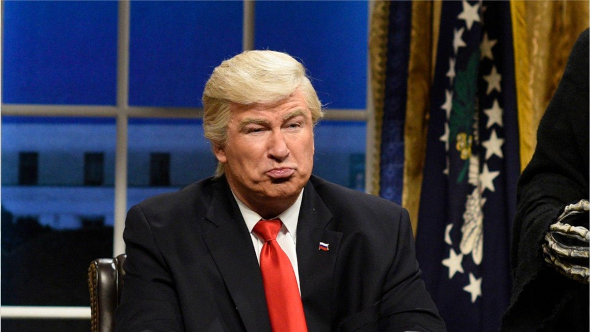 Alec Baldwin's 'Trump' Mistaken For Real Trump