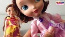 Disney Princess Sofia - Fortune Days Dolls Toy: Belle Doll | Toys Collection Video For Kids