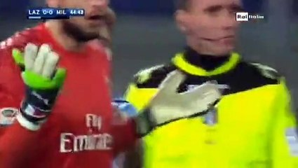 Lucas Biglia Goal Lazio 1 - 0 AC Milan SA 13-2-2017