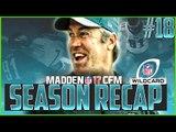 CFM Tips For Success! Madden NFL 17 Online Franchise Season Recap EP #18
