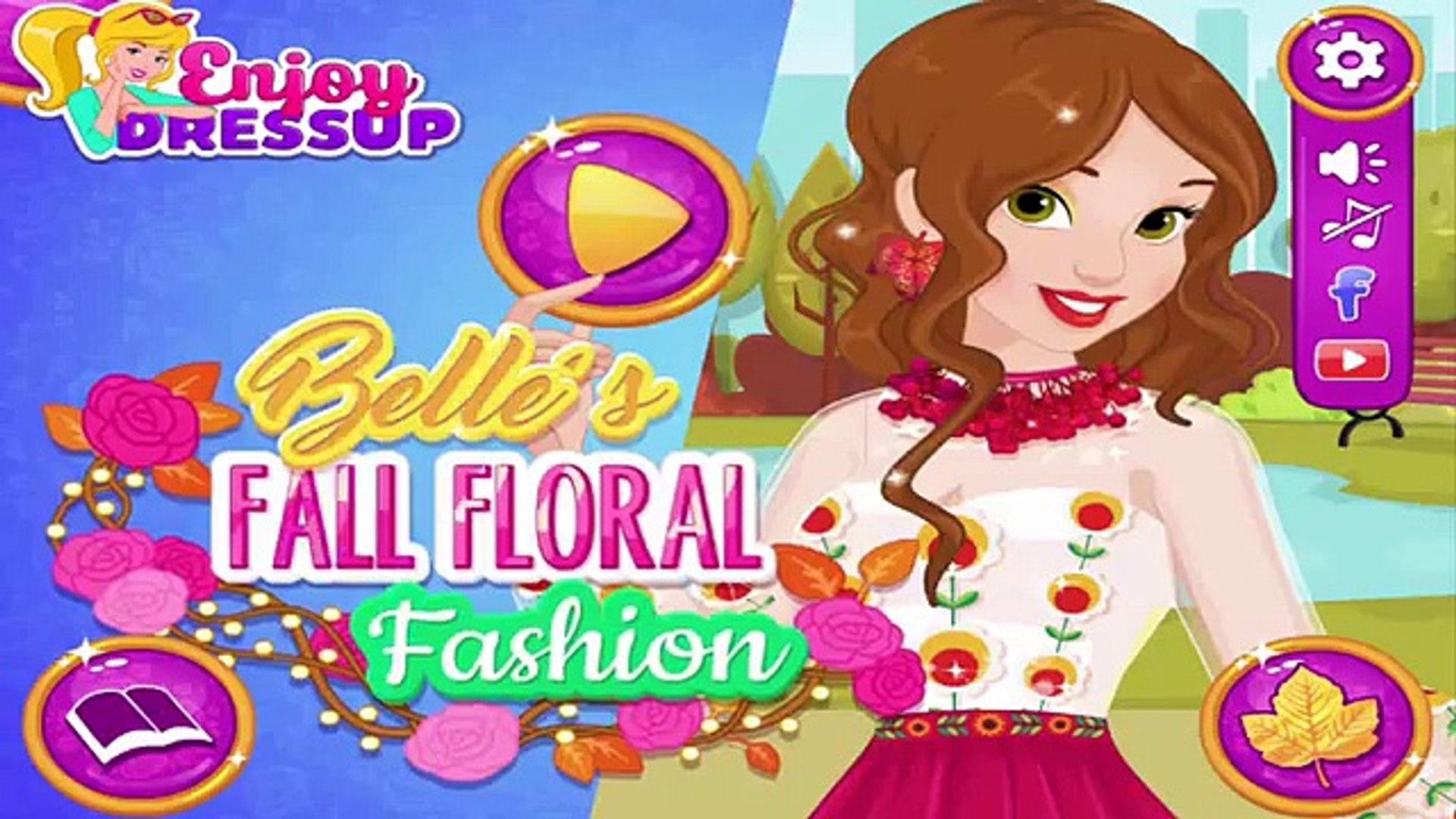 Belles Fall Floral Fashion: Beauty and The Beast Games