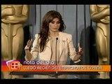 Penelope Cruz habla en el brunch de los Oscares