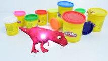 Dinosaurs Vs Gorilla Play Doh Toys for Kids | Fun Making Play Doh Gorilla Toys for Childre