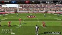 SF49ers VS Dallas Cowboys - Madden Mobile