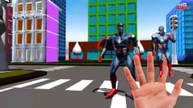 Skeleton superheros Superman Hulk batman Captain america ironman finger family 3d animation Rhymes