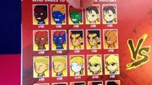 Kidrobot Street Fighter Mini Figure 2 Pack! Balrog with Blind Box Mystery Figure!