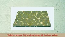 Table Runner Brown Mocha Floral Brown Floral Table Runner Table Linens 72 Inch Long 15 313ead10