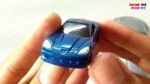 Maisto Toy Cars Mini Countryman | Tomica Chevrolet Corvette | Kids Cars Toys Videos HD Collection
