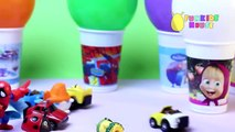 Baby Learning Colors with Balloons Toys Video Learn English for Toddlers Preschoolers