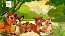 BAMBI   Bambi Finger Family   Bambi Finger Family Cartoon Toy Animation Nursery Rhymes For Children