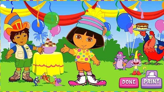 Game Baby Tv Episodes 28 - Dora The Explorer - Super Silly Costume Maker Games