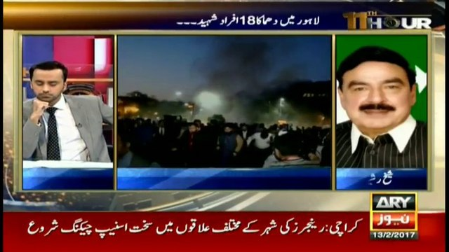 Sheikh Rasheed's take on back to back terror attacks in Pakistan