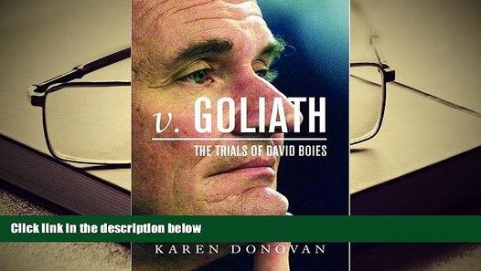 The Trials of David Boies v Goliath