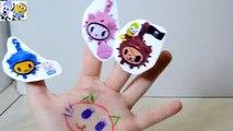 Cactus Kitties Finger Family Song For Kids Tokidoki Kitties Nursery Rhymes