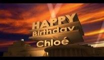 Celles qui sont nées le 14 février sont les meilleures.  Happy birthday Chloé