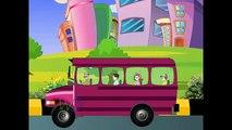 Колеса На Автобусе На Английском | Лучшие Стихи Для Детей | Супер Потешки