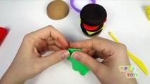 Play Doh Burger Hamburger H*t Dog Bun Sausage Fun How to Make Food Cooking Kitchen PlayDou