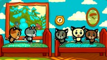 Five Little Kittens  Kids Songs With Lyrics For Babies _ Three Kittens _ Nursery Rhymes-sxsWPVFlFkU