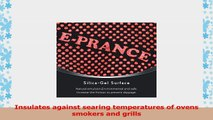 EPRANCE Grill Cooking Gloves Heat Resistant Oven Mitts for Grilling BBQ Kitchen 1 Pair 14 167fac93