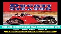 Books Ducati 916   996: 916, 916SP, 916SPS, Biposto, 955, 955SP, 955 Corsa, 991, 996SPS, 996 R