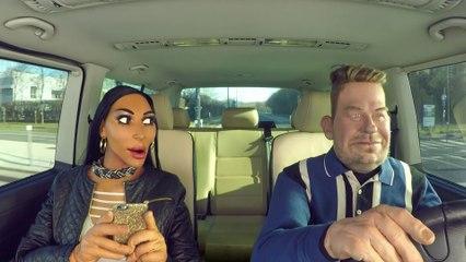 Carpool Karaoké Kim Kardashian - Los Guiñoles - CANAL+