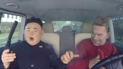 Carpool Karaoké Kim Jong Un - The Guignols - CANAL+