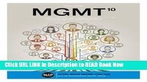 [DOWNLOAD] MGMT (with MGMT Online, 1 term (6 months) Printed Access Card) (New, Engaging Titles