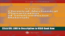 Get the Book Chemical-Mechanical Planarization of Semiconductor Materials (Springer Series in