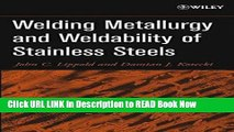 Get the Book Welding Metallurgy and Weldability of Stainless Steels iPub Online
