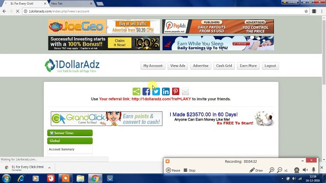 How to earn 1 Dollar per click and 50 per day by adds_(1280x720