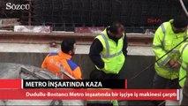 Metro inşaatında kaza 1 işçi öldü