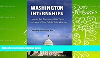 PDF  Washington Internships: How to Get Them and Use Them to Launch Your Public Policy Career For