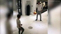 Toni Terry shares family game of 'one touch' with John Terry and kids