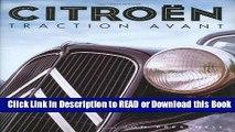 [PDF] Citroen Traction Avant Free Books