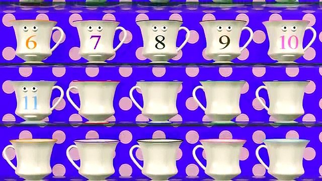Counting to 20 with Talking Teacups: Numbers 1-20 Lesson for Children