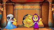 Masha and The Bear with Spiderman vs Frozen Elsa! Dora Crying Lost Ice Cream