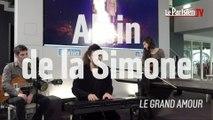 Albin de la Simone chante « Le grand amour » en live au Parisien
