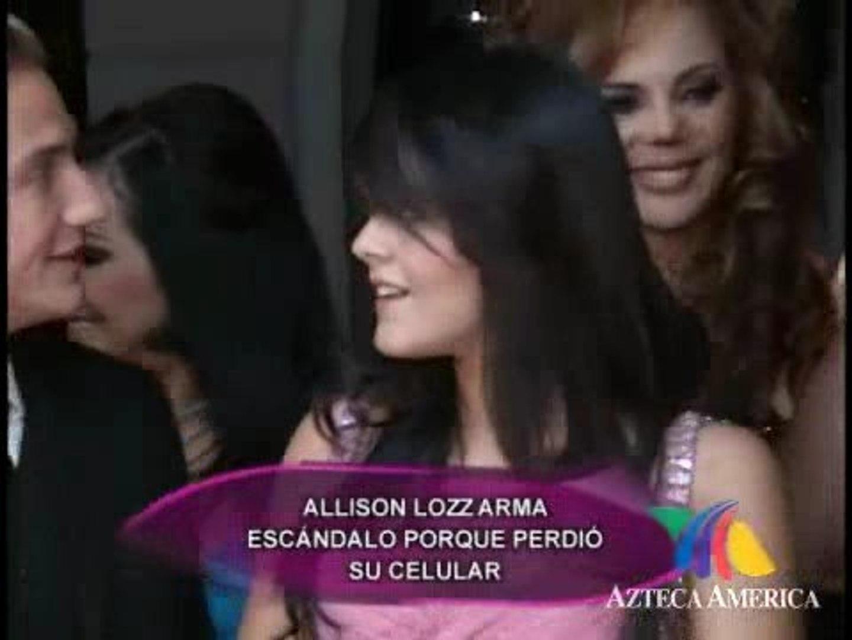 Allisson Lozano allisson lozz posó desnuda? - vídeo dailymotion