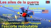 LES AILES DE LA GUERRE / P-51 Queues rouges : redoutable escorte