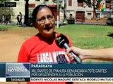 teleSUR Noticias. Colombia: Amenazas de paramilitares.