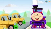 Trenes infantiles - Caricaturas de trenes - Dibujos Animados Educativos - Vídeos de Trenes