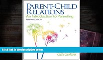 Audiobook  Parent-Child Relations: An Introduction to Parenting (9th Edition) Jerry J. Bigner
