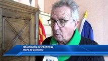 Hautes-Alpes : Bernard Leterrier avait rencontré l'ancienne doyenne de Guillestre en janvier