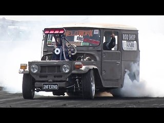 1500hp Toyota FJ40 DESTROYS Tires!?