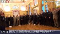 HPyTv Tarbes | Médaillés du Championnat de France Militaire de judo (15 février 2017)